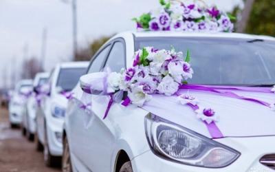 В ГИБДД придумали ограничения для свадебных кортежей